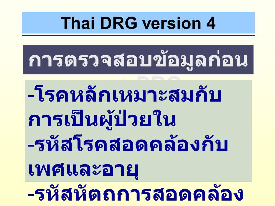 - Pre MDC 00 MDC 1 - 2501 - 25 UN26 STRUCTURE DRG PDC AX DC MDC MDC + 01 - 49 : With Proc MDC + 50 - 99 : No Proc eg : 0101, 0102, 0103 … 0150, 0151, 0152,...