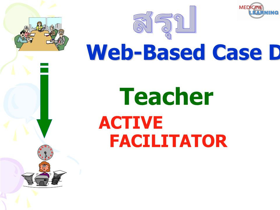 Teacher ACTIVE FACILITATOR Web-Based Case Discussion