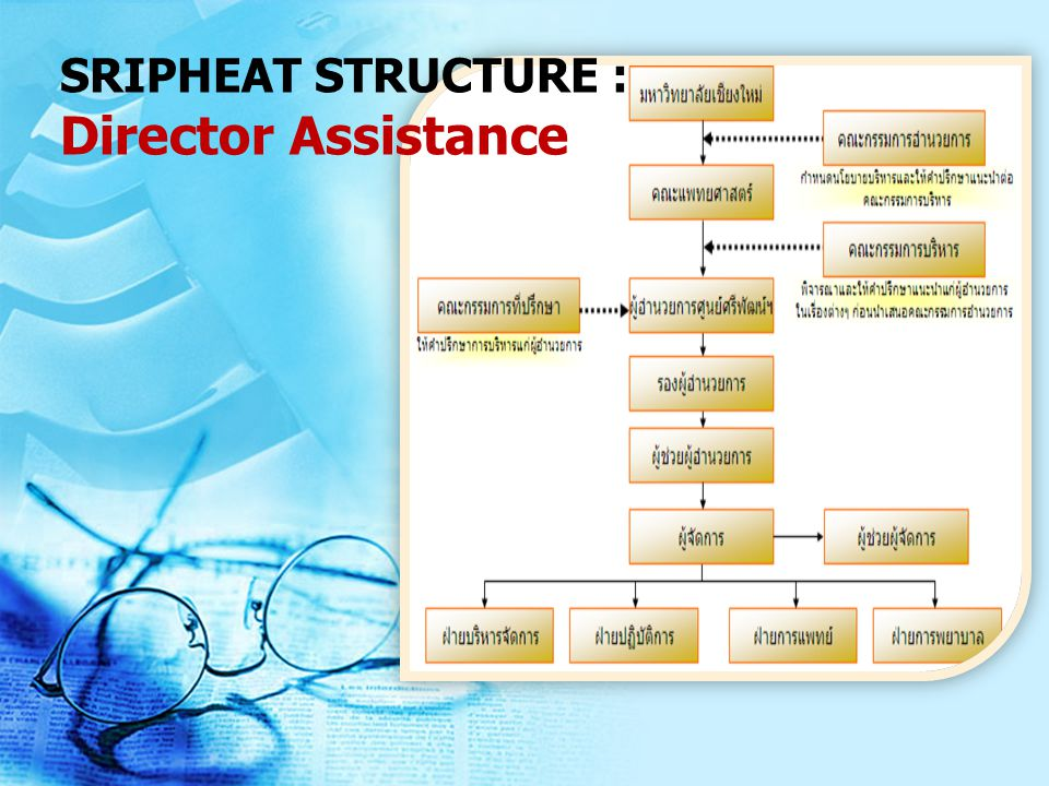 SRIPHEAT STRUCTURE : Director Assistance