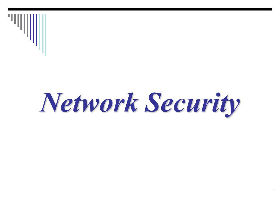 Security services Network Security คือการรักษาความปลอดภัยของข้อมูลภายใน เครือข่าย ซึ่งสามารถแบ่งออกเป็น 5 service ดังนี้ ใน 4 services แรก จะคำนึงถึงข้อมูล (message) ที่มีการ แลกเปลี่ยนกันในเครือข่าย ส่วน service สุดท้ายจะใช้การยืนยัน ตัวตนของผู้ใช้