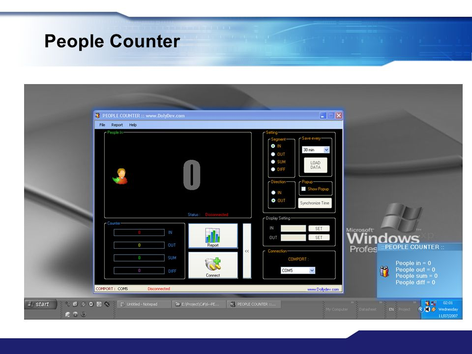 www.themegallery.com People Counter