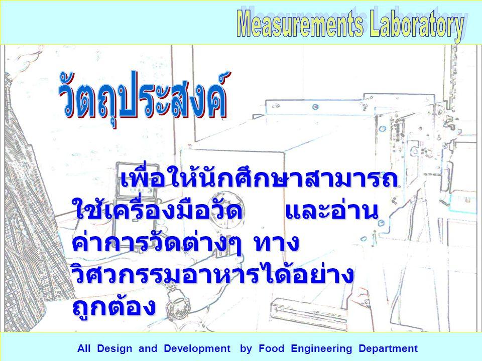 วัดความ หนาของ ถุงพลาสติก All Design and Development by Food Engineering Department