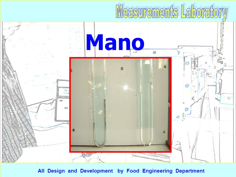 Mano meter All Design and Development by Food Engineering Department