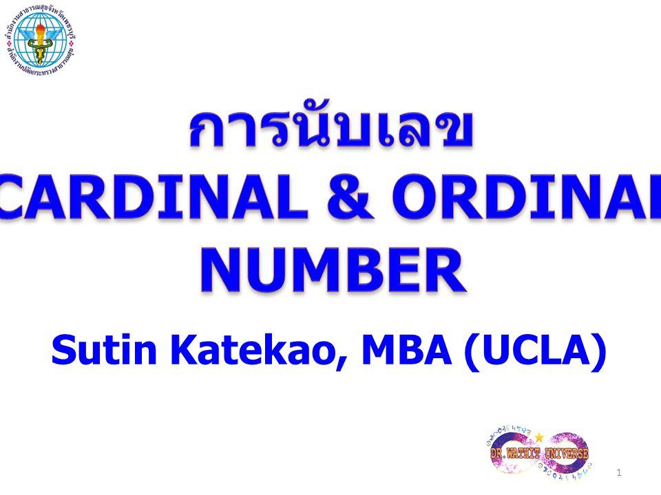1 Sutin Katekao, MBA (UCLA)