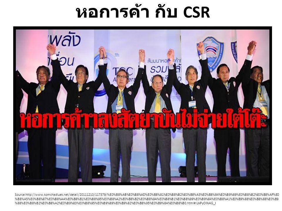 หอการค้า กับ CSR
