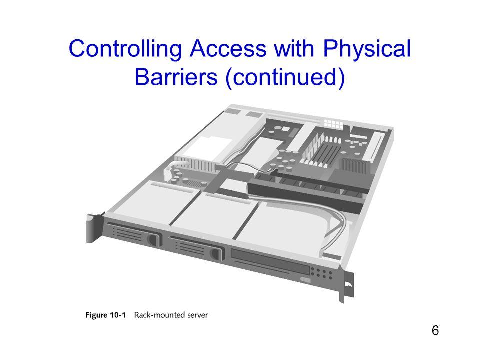 17 Shielding a Wired Signal (continued) แหล่งที่มาของ crosstalk โดยปกติจะเป็นสัญญาณรบกวน จากการส่งสัญญาณอื่น การสูญเสียสัญญาณเรียกว่าการลดทอน (attenuation) การป้องกันสัญญาณ มี สองแบบคือ –ฉนวนหุ้มป้องกันสาย หรือ Telecommunications Electronics Material Protected from Emanating Spurious Transmissions (TEMPEST) –กล่องป้องกันเฉพาะ Faraday cage
