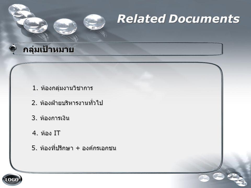 LOGO Related Documents คณะกรรมการ คณะกรรมการ 1.ผู้อำนวยการ ( ประธาน ) 1.