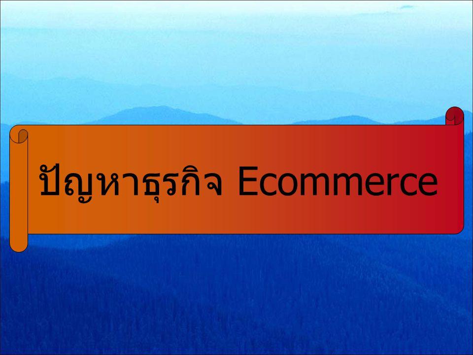 ปัญหาธุรกิจ Ecommerce