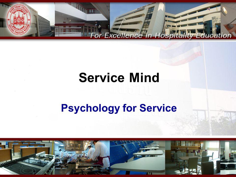 Service Mind Psychology for Service