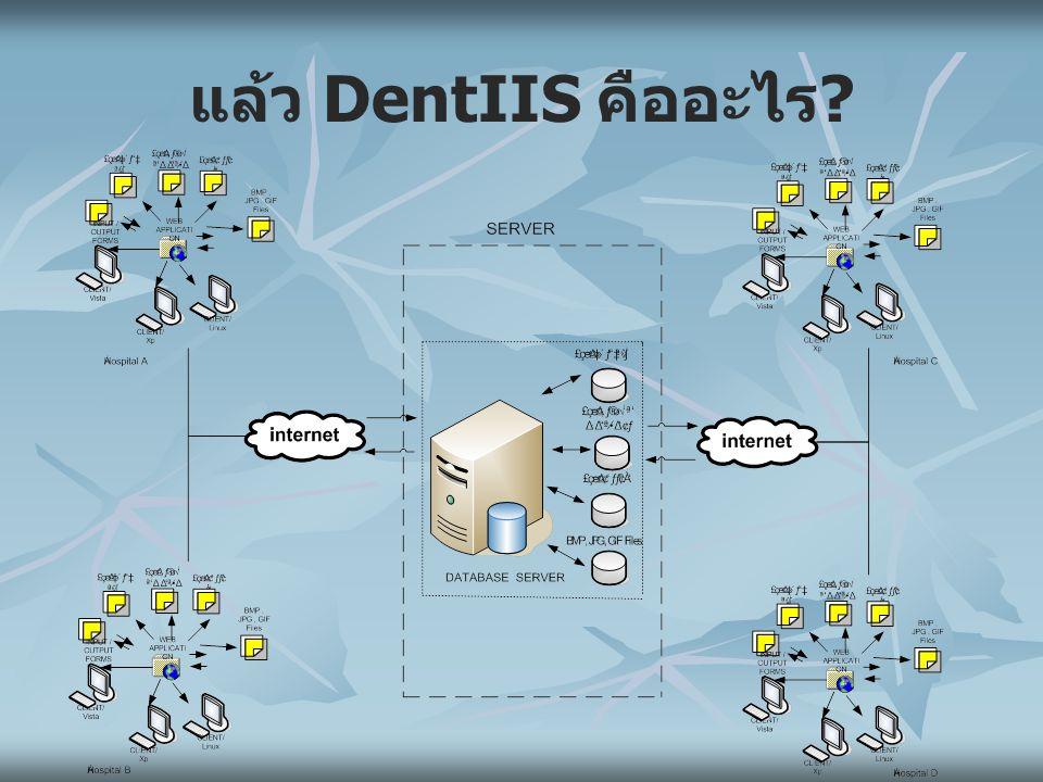 DentIIS ช่วยทำอะไร.