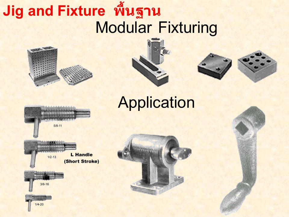 Modular Fixturing Jig and Fixture พื้นฐาน Application