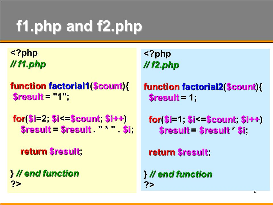 19 Pass by Reference <?php function increment( &$x ){ function increment( &$x ){ $x = $x +10; $x = $x +10; } $data = 10; $data = 10; echo data before pass by value = .