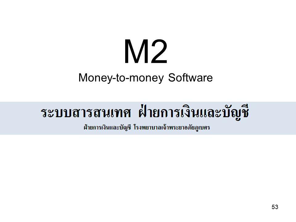 53 M2 Money-to-money Software