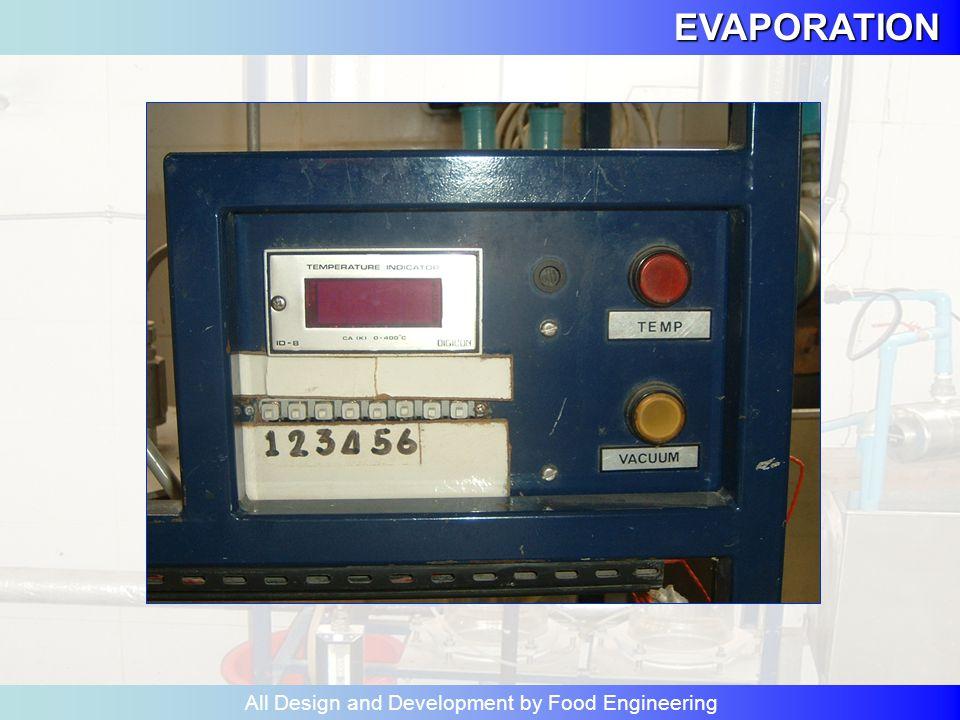 EVAPORATION All Design and Development by Food Engineering ตรวจการ ไหลของ น้ำจาก 8 ไป 5 5 8