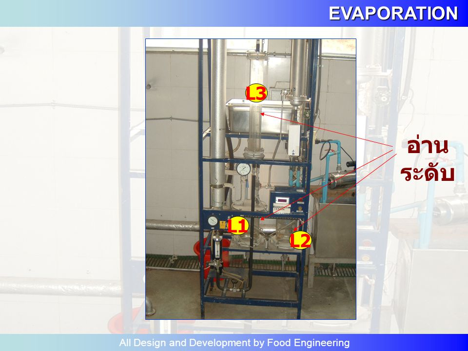 EVAPORATION All Design and Development by Food Engineering