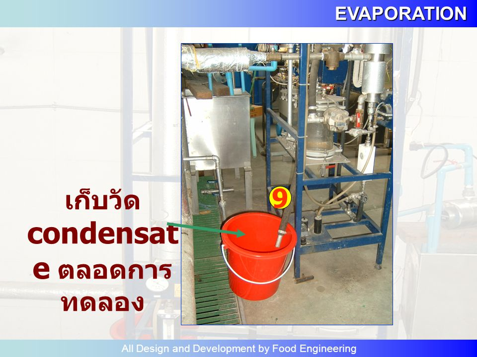 EVAPORATION All Design and Development by Food Engineering อ่าน ระดับ L3 L1 L2
