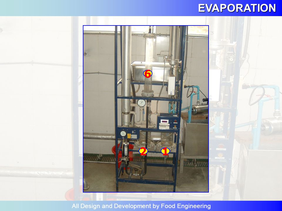 EVAPORATION All Design and Development by Food Engineering วัตถุประสงค์ เพื่อให้นักศึกษา 1.