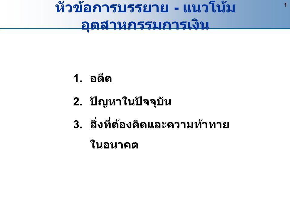 3. สิ่งที่ต้องคิดและความท้าทายในอนาคต