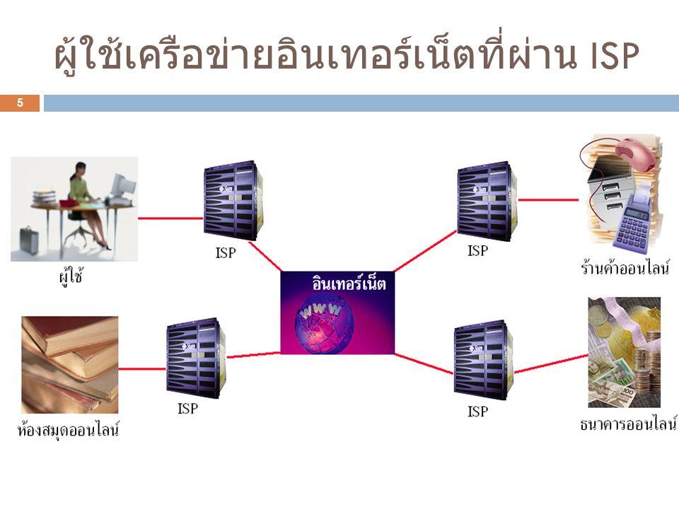 ISP คืออะไร .