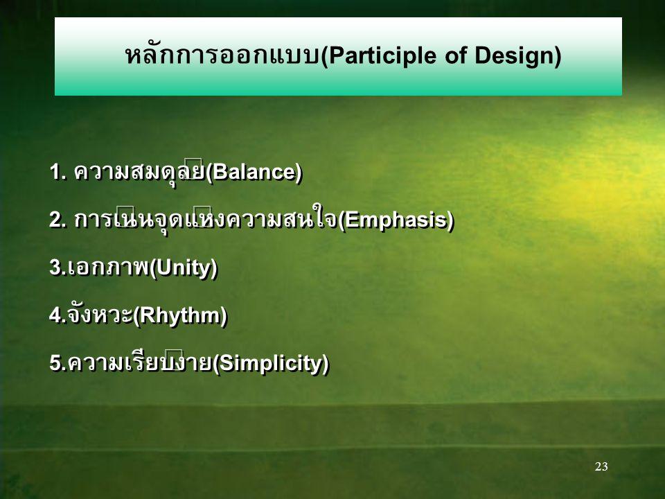 22 กฎ 3 ส่วนกับการออกแบบ 41 22 20 17