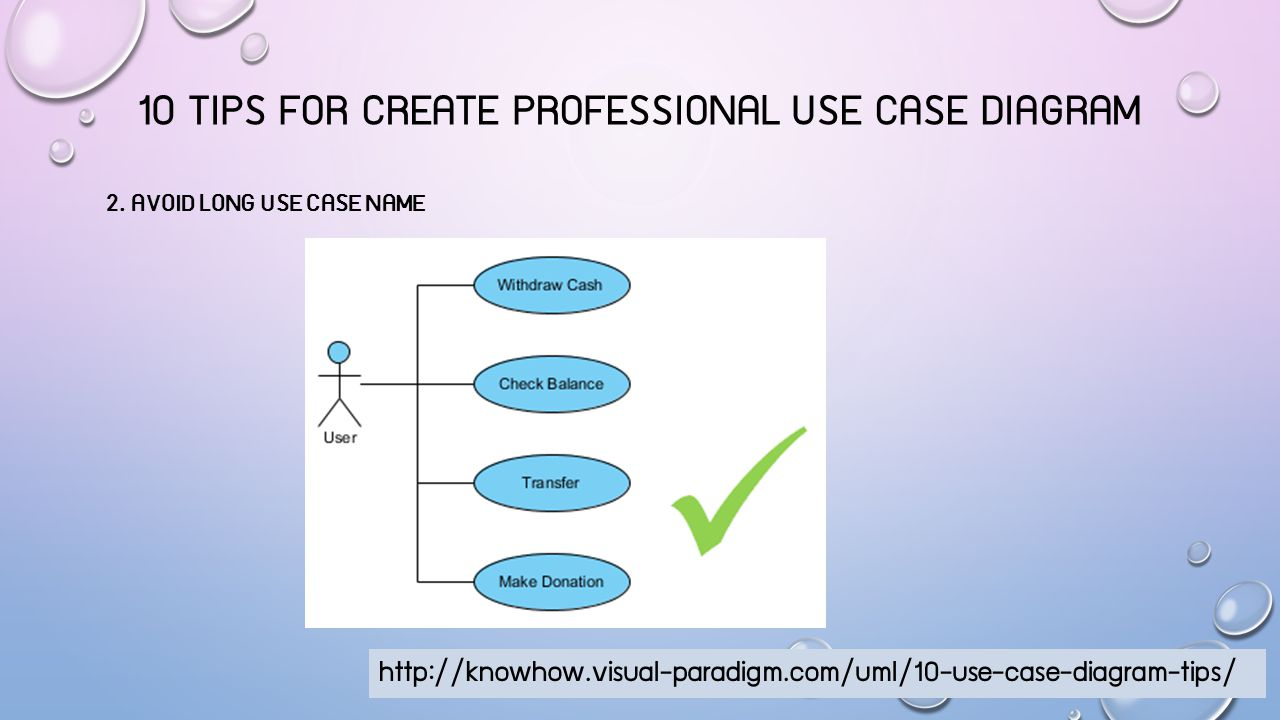10 TIPS FOR CREATE PROFESSIONAL USE CASE DIAGRAM 3.
