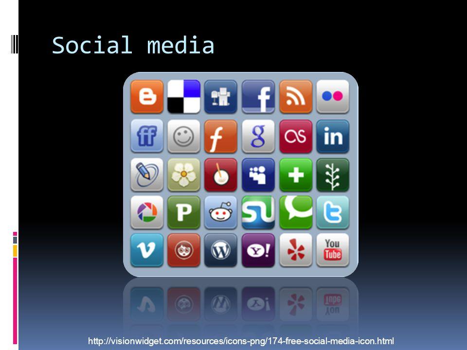 Social media http://visionwidget.com/resources/icons-png/174-free-social-media-icon.html