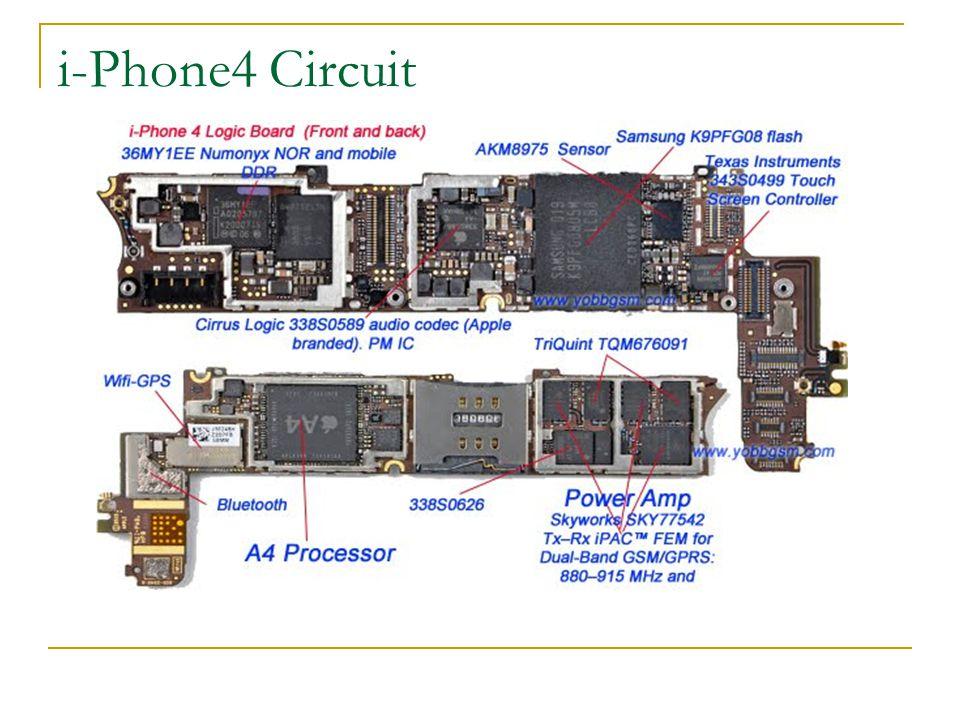 i-Phone4 Circuit