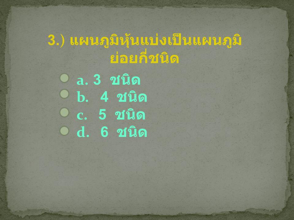 3.) แผนภูมิหุ้นแบ่งเป็นแผนภูมิ ย่อยกี่ชนิด a.3 ชนิด b. 4 ชนิด c. 5 ชนิด d. 6 ชนิด