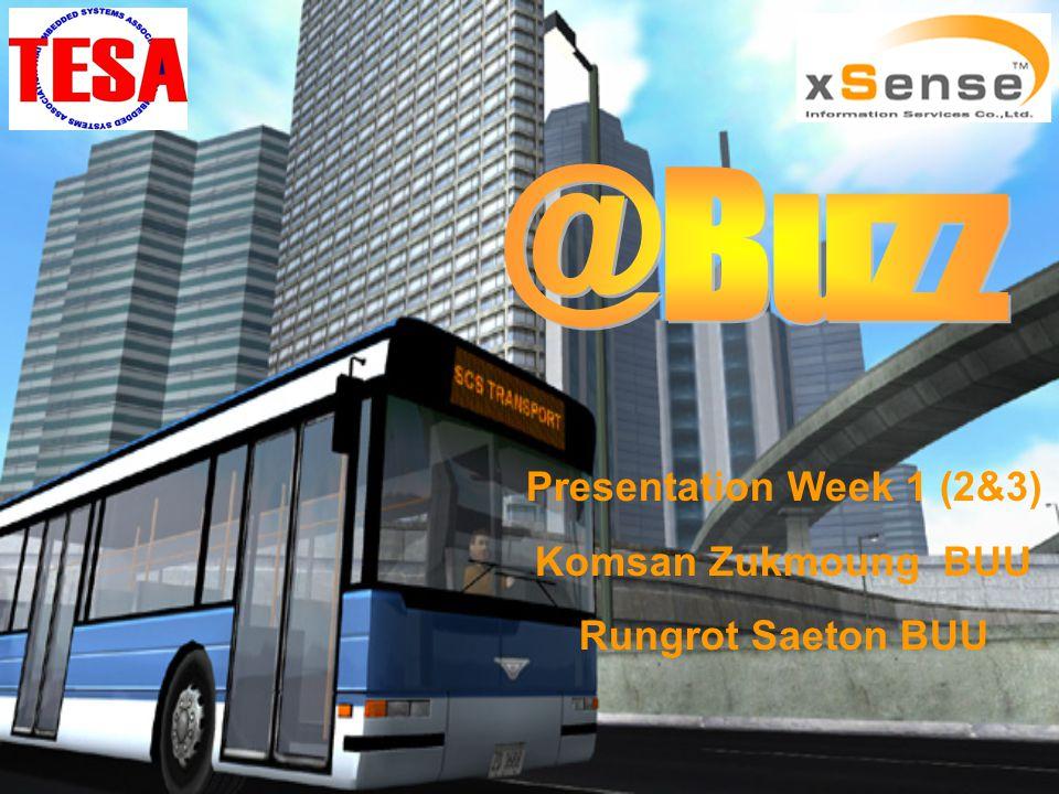 Presentation Week 1 (2&3) Komsan Zukmoung BUU Rungrot Saeton BUU