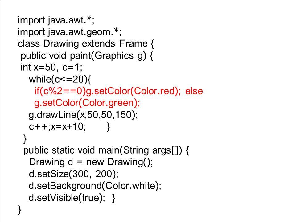 Powerpoint Templates Page 10 Nested If เป็นการทำให้โปรแกรมีทางเลือกมากกว่า 2 ทางเลือก เช่น 3 ทางเลือก เป็นต้น ดัง ตัวอย่างการเขียนโปรแกรมเพื่อแสดงเส้นสีแดง น้ำเงิน และเขียว สลับกัน เป็นต้น หากพิจารณา การทำงานจะพบว่า จะมีการทำงานดังนี้ เส้นที่ 1 สีแดง เส้นที่ 2 สีน้ำเงิน เส้น ที่ 3 สีเขียว เส้นที่ 4 สีแดง เส้นที่ 5 สีน้ำเงิน เส้น ที่ 6 สีเขียว การหาเส้น 1 2 หรือ 3 ใช้การ modulo ด้วย 3