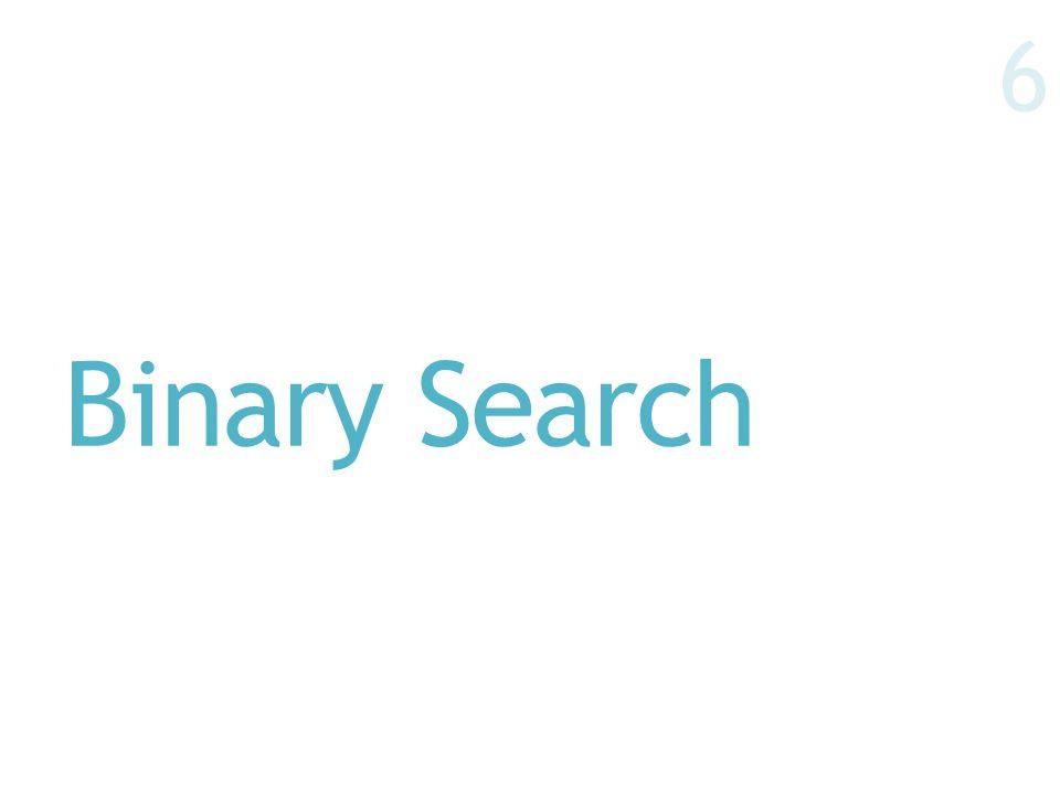 Binary Search 6