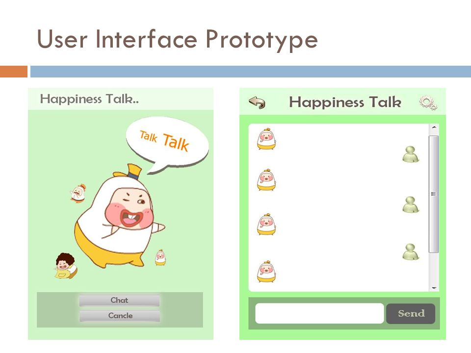 User Interface Prototype