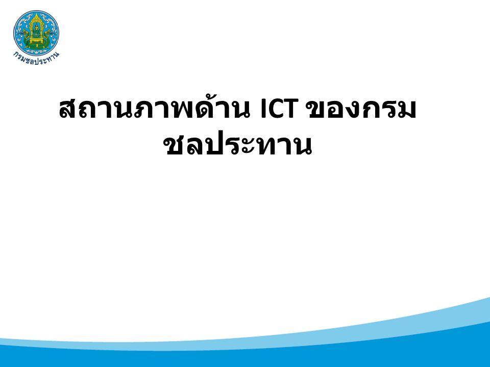 สถานภาพด้าน ICT ของกรม ชลประทาน
