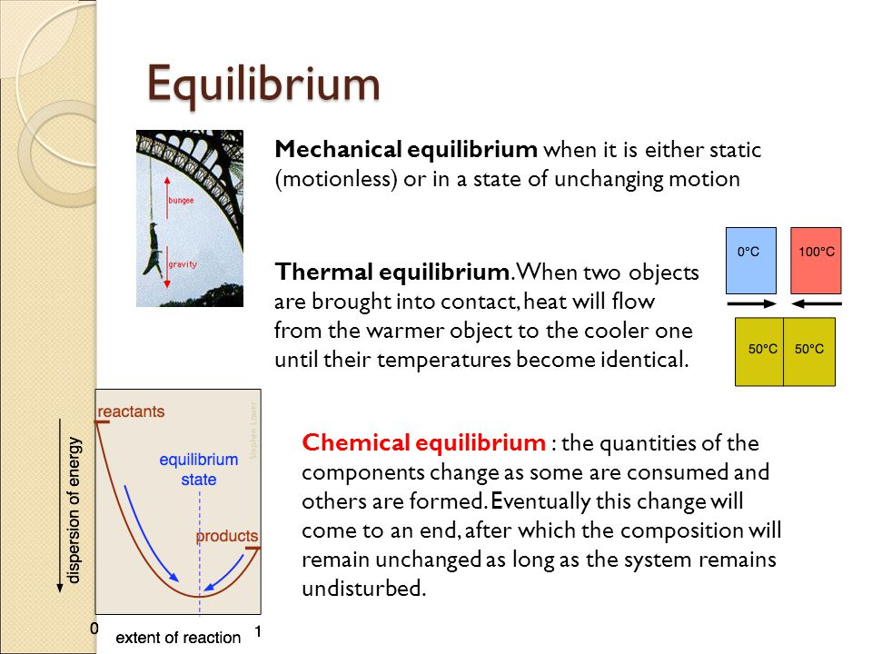 Chemical Equilibrium H 2 + I 2 → 2 HI formation of hydrogen iodide 2 HI → H 2 + I 2 dissociation of hydrogen iodide It is the same both ways The equilibrium composition is independent of the direction from which it is approached.