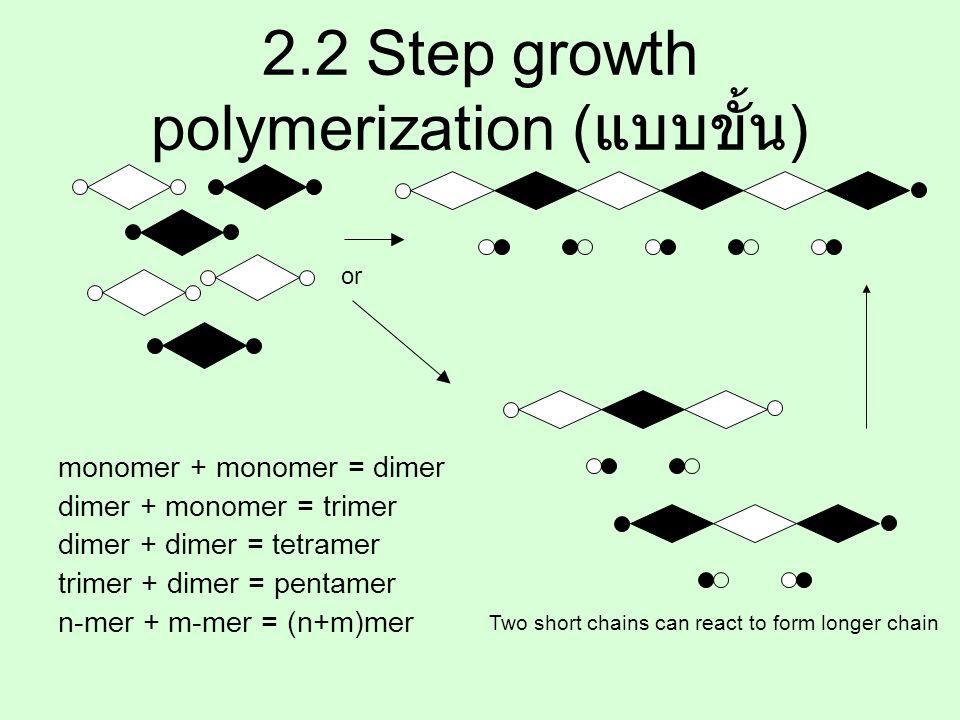 Chain-Growth ( or addition) polymerization