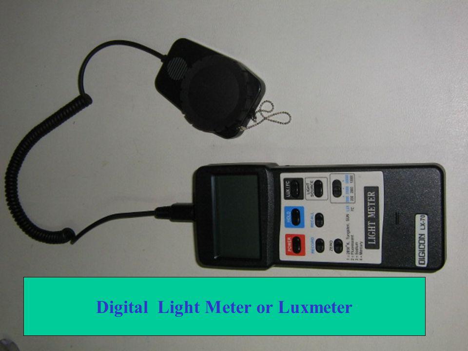 Luxmeter เซนเซอร์ตรวจวัดแสง ฝาครอบเซนเซอร์