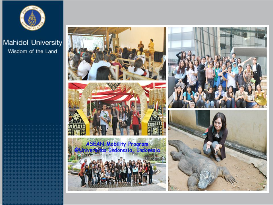 The representatives of Mahidol University students and staff