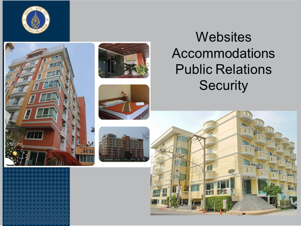 Websites Accommodations Public Relations Security