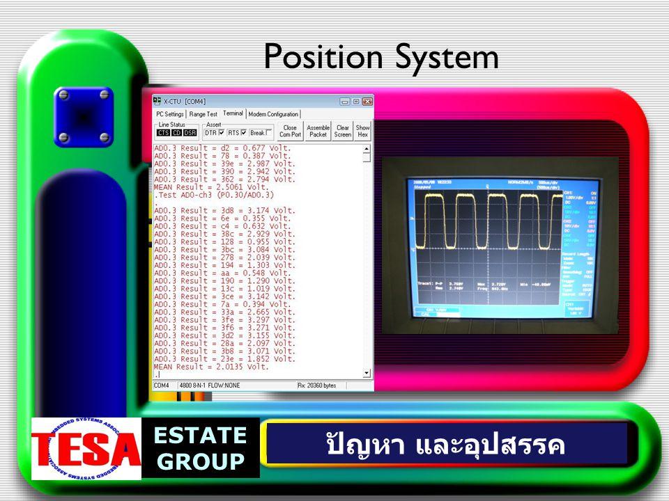 Position System ESTATE GROUP ปัญหา และอุปสรรค