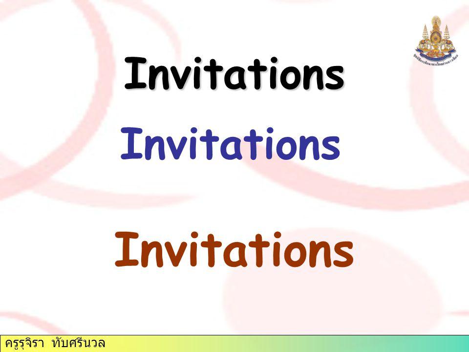 Invitations Invitations Invitations