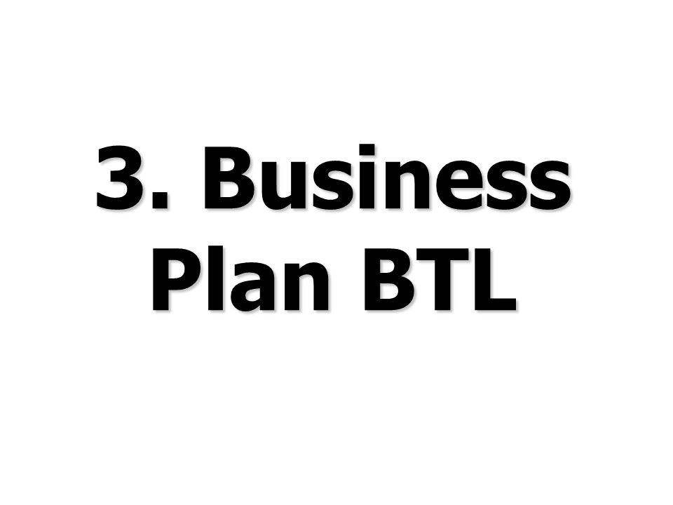 3. Business Plan BTL