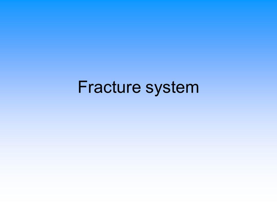 โดยธรรมชาติ รอยแตก (fracture) เกิดขึ้น เนื่องจาก tension หรือ shear stress ใน หินที่แตกหักง่ายไม่มีความยืดหยุ่น ความ รุนแรงของการแตกขึ้นอยู่กับความรุนแรง ของแปรสภาพ ในกรณีของ tension faults ความรุนแรงของการแตกลดลงเมื่อ ระยะห่างจากระนาบของ fault เพิ่มขึ้น