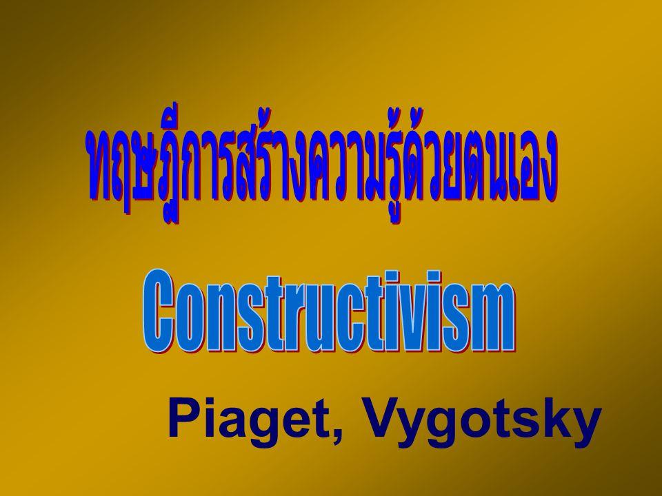 Piaget, Vygotsky