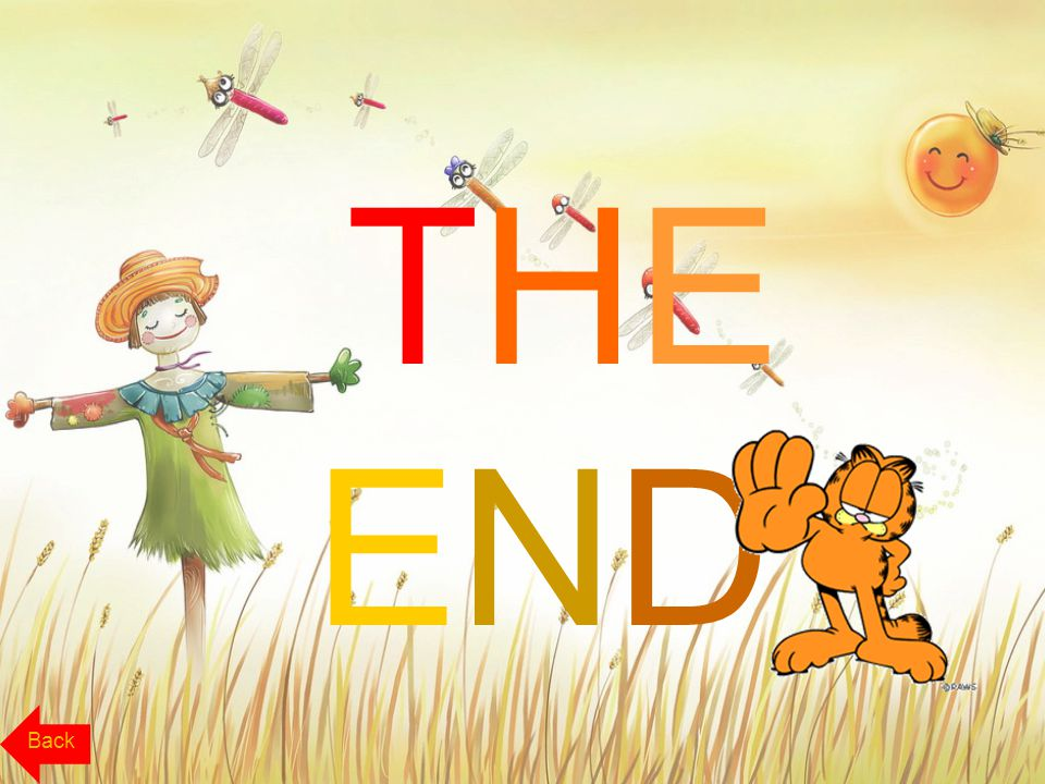 THE END Back