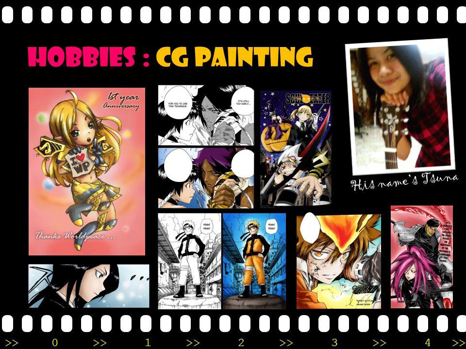 >>0 >>1 >> 2 >> 3 >> 4 >> Hobbies : CG painting His name's Tsuna