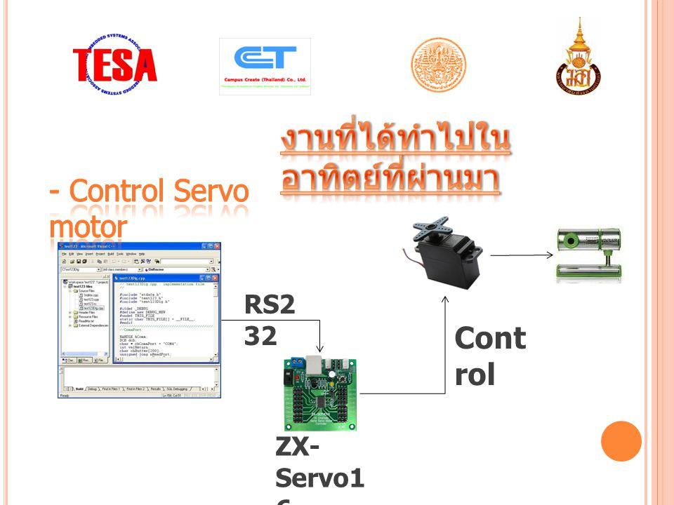 RS2 32 ZX- Servo1 6 Cont rol