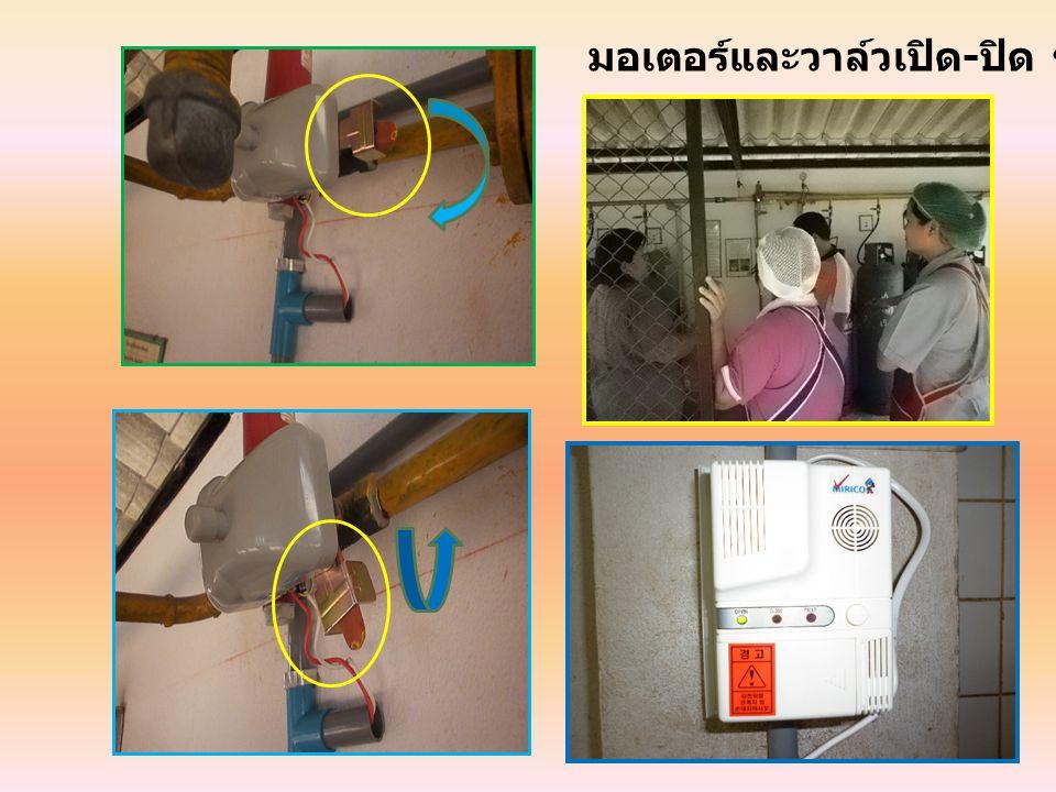 กรณีที่ไฟฟ้าขัดข้อง การทดสอบชุดควบคุมก๊าซ LPG รั่วไหล แบบอัตโนมัติ