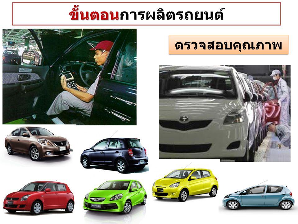 ขั้นตอน ขั้นตอนการผลิตรถยนต์ ตรวจสอบคุณภาพ
