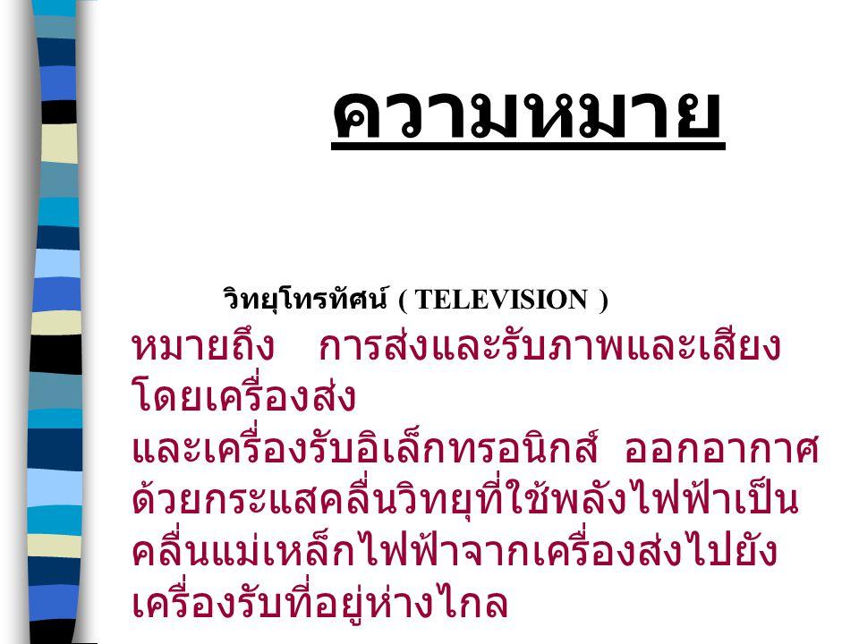 ข้อจำกัดของวิทยุโทรทัศน์ 4. ผู้ชมไม่สามารถให้ปฎิกิริยา ย้อนกลับ ได้ทันที 5.