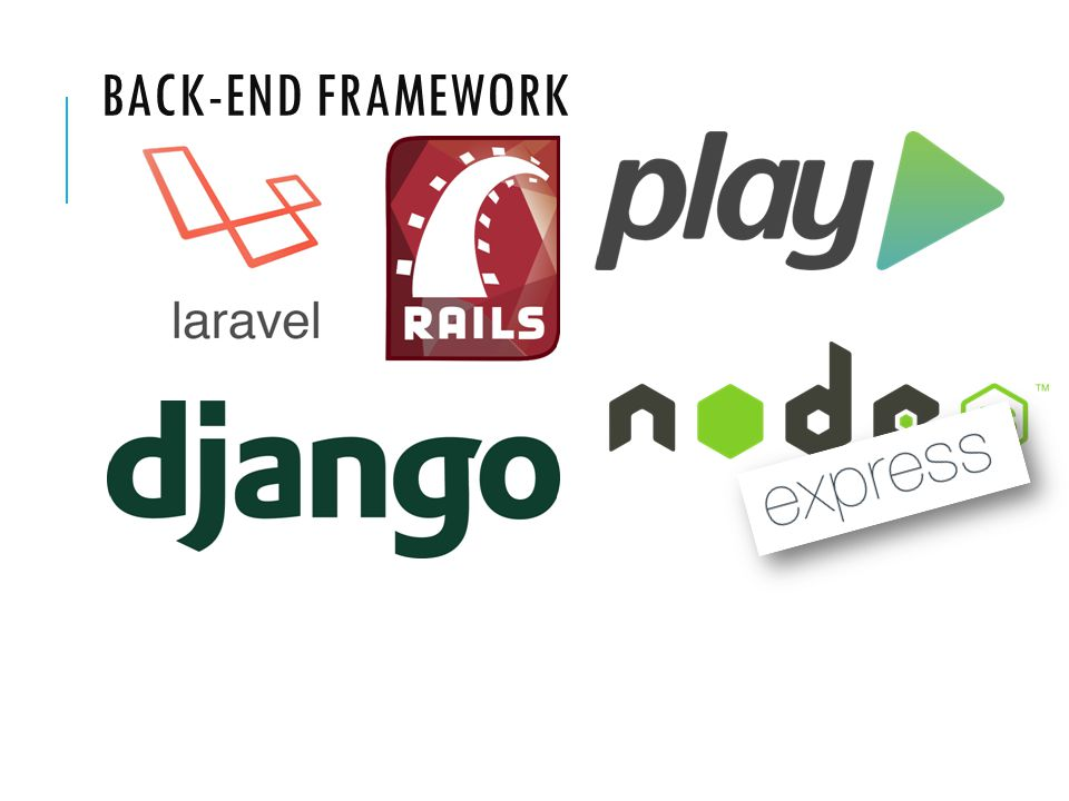 BACK-END FRAMEWORK